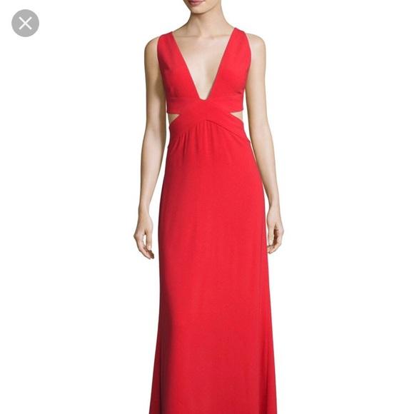 5cde58e93d1f0f Halston Heritage Dresses | Sleeveless Deepv Evening Gown | Poshmark